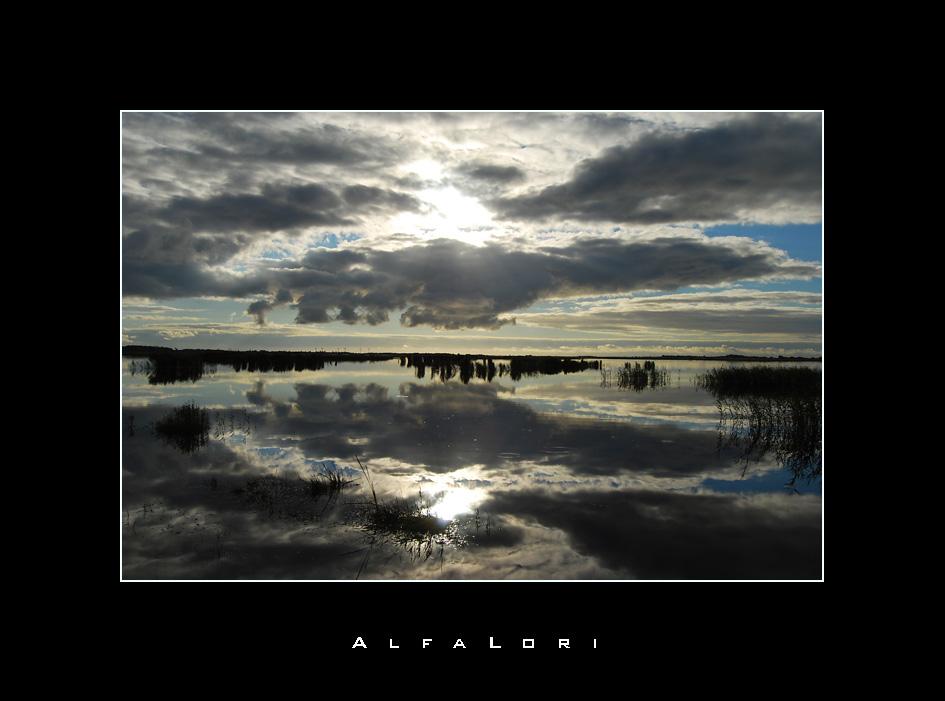 Wie der Himmel so der See...