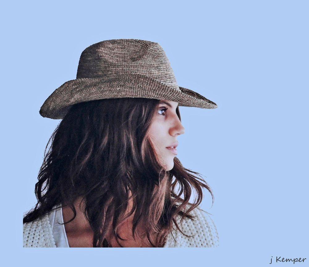 - wie ein Cowgirl -