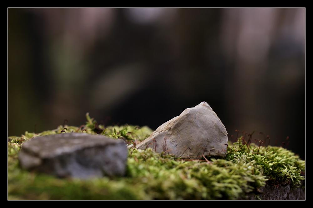 Wie ein Stein...