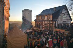 wie im Mittelalter...