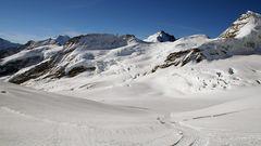 Wie mag es heute wohl zu Füßen der Jungfrau im Berner Oberland aussehen ?