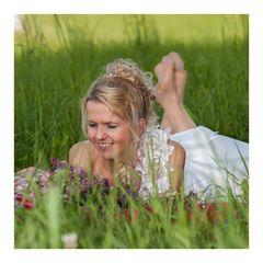 Wie schön ist es im hohen Gras ;)