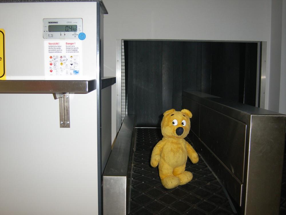 WIe schwer ist der gelbe Bär - Die Auflösung