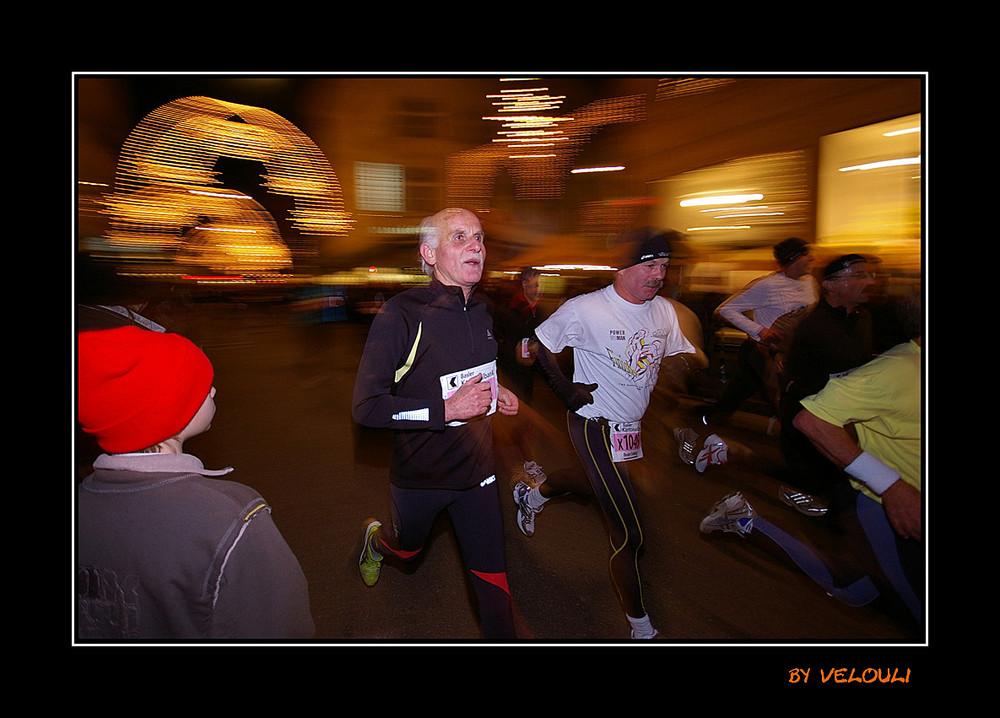 wieder alle Generationen beim Stadtlauf 2008 dabei