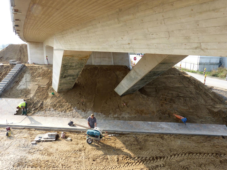 Wieder eine Brücke fertig
