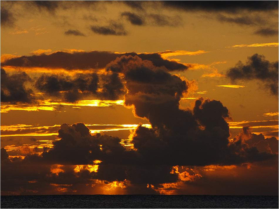 Wieder einmal so ein Sonnenuntergang