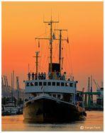 Wieder im Hafen ......