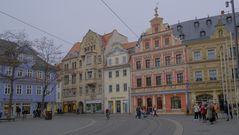 wieder in Erfurt, schöne Häuser (en Erfurt otra vez, hermosas casas)
