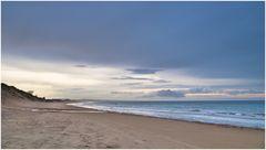 wieder mal alleine am Strand