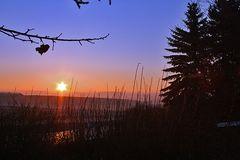 """Wieder mal ein schöner Morgen am 05.02. 09 mit einem """"Glühen"""" von..."""