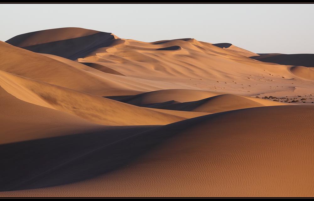 Wieder Sand