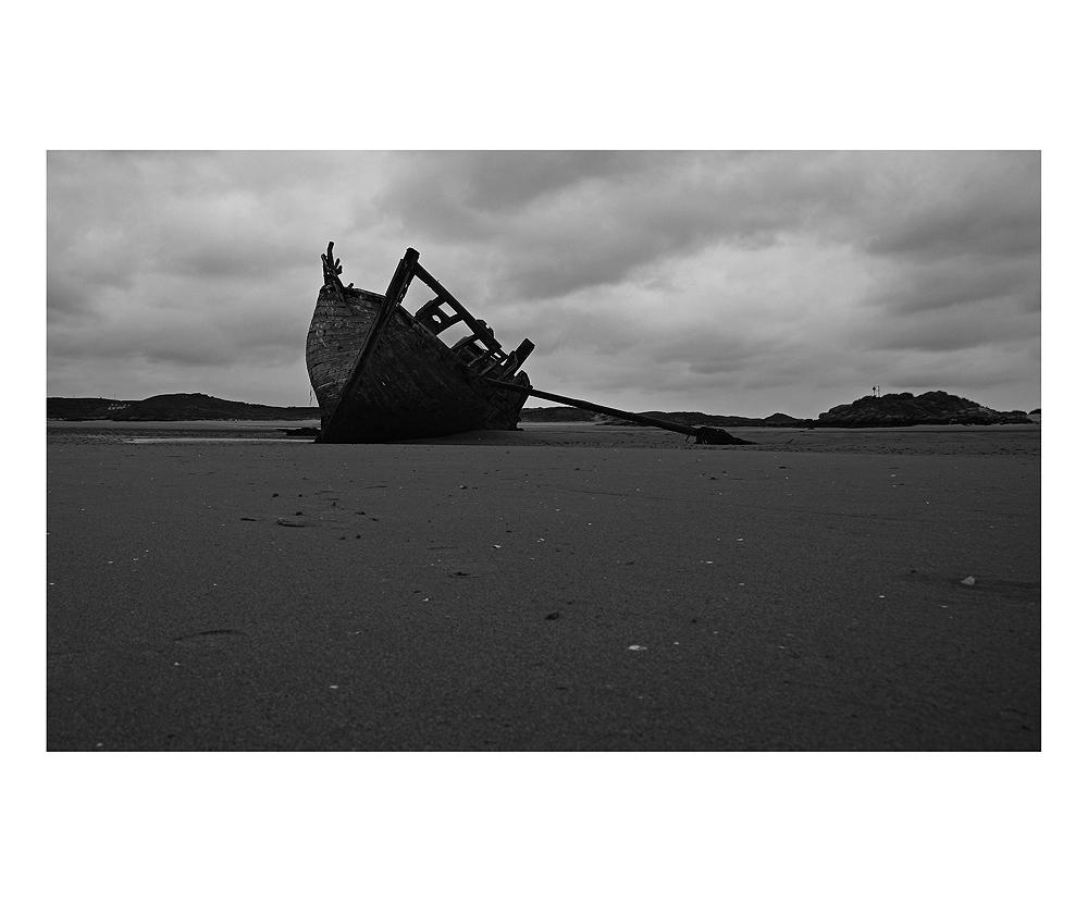 ..wieder weg von Cruit Island...