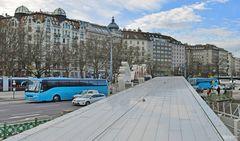 Wien, am Donau Hafen