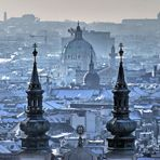Wien am morgen bei - 11 °