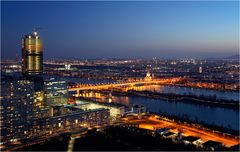 Wien - Blick vom Donauturm