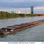 Wien-Donaustadt, UNO-City, Donau, 18.09.2017