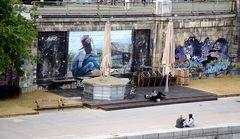 Wien, Graffiti am Donaukanal...