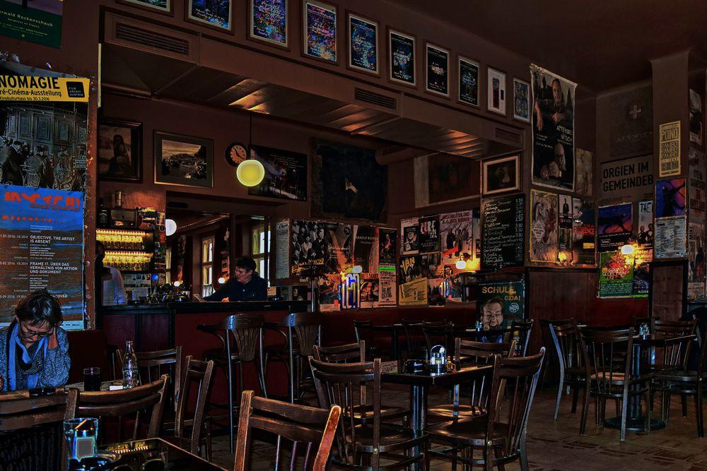 Wien legendäres Cafe Hawelka