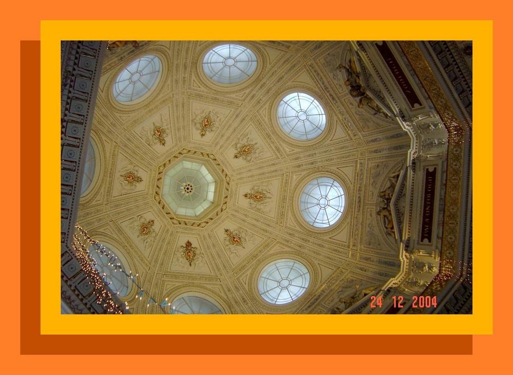 Wien, Naturhistorisches Museum, Kuppel