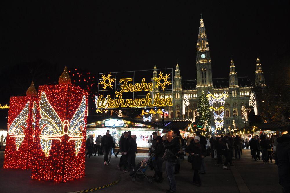 Wien - Rathaus - Weihnachtsmarkt