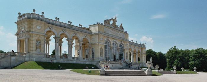 Wien - Schloss Schönbrunn, die Gloriette