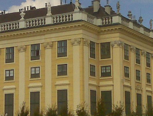Wien, Schoenbrunn Ocktober 2008