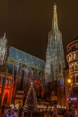 Wien zur Vorweihnachtszeit.