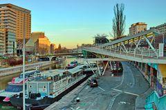 Wiener Hafen: der größte öffentliche Donauhafen