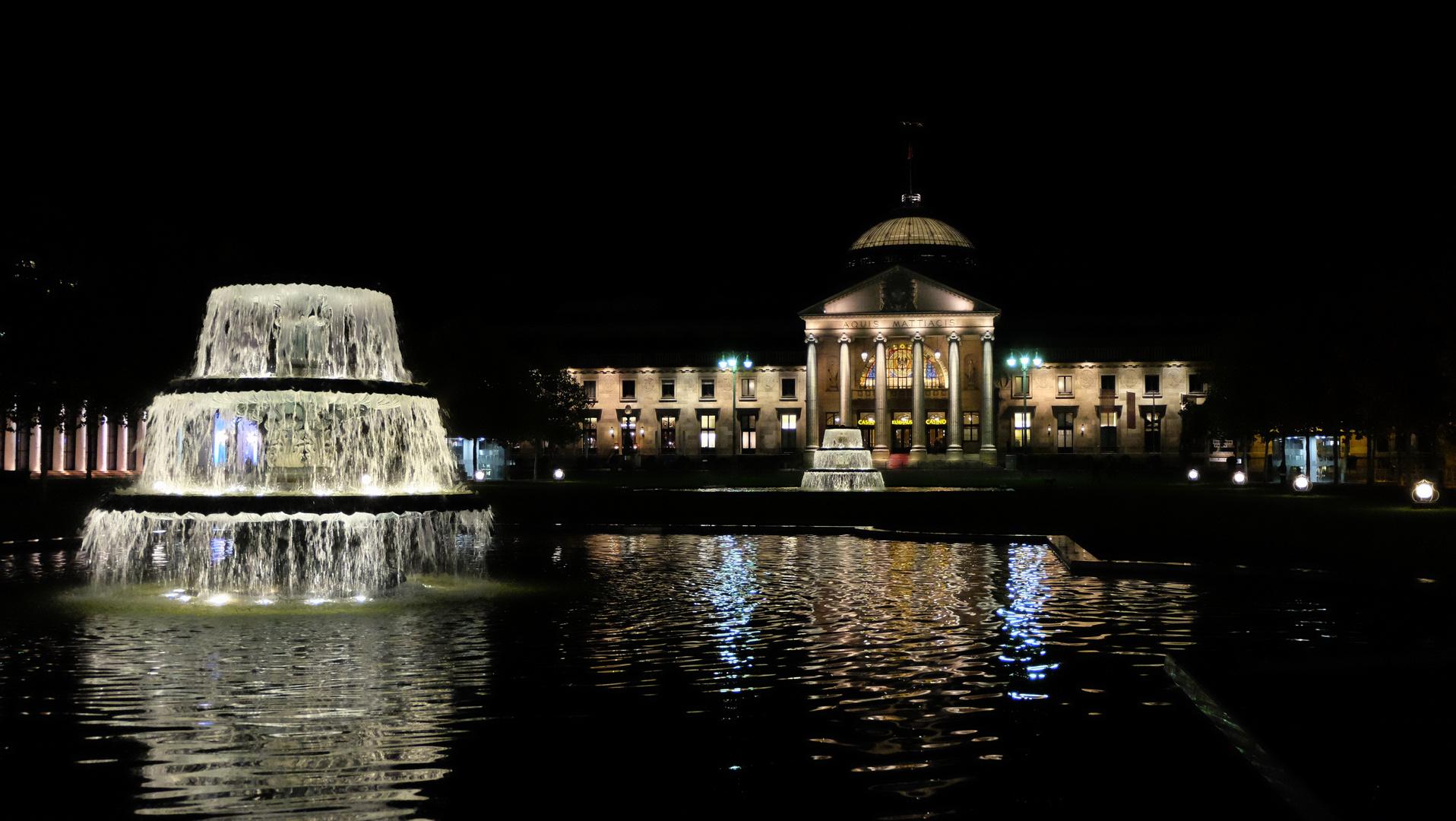 Wiesbaden (5), am Kurhausplatz, Casino, Spielbank