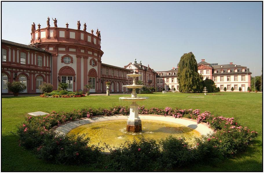 Wiesbaden Schloss Biebrich Foto & Bild