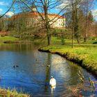 Wiesenburg im Frühling