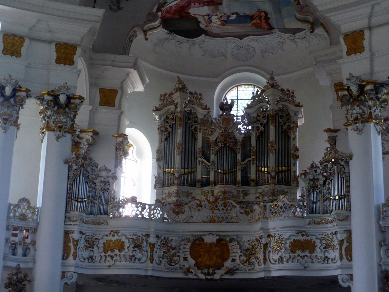 Wieskirche Orgel