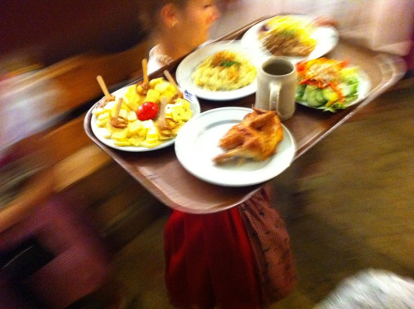 Wiesn-Mahlzeit