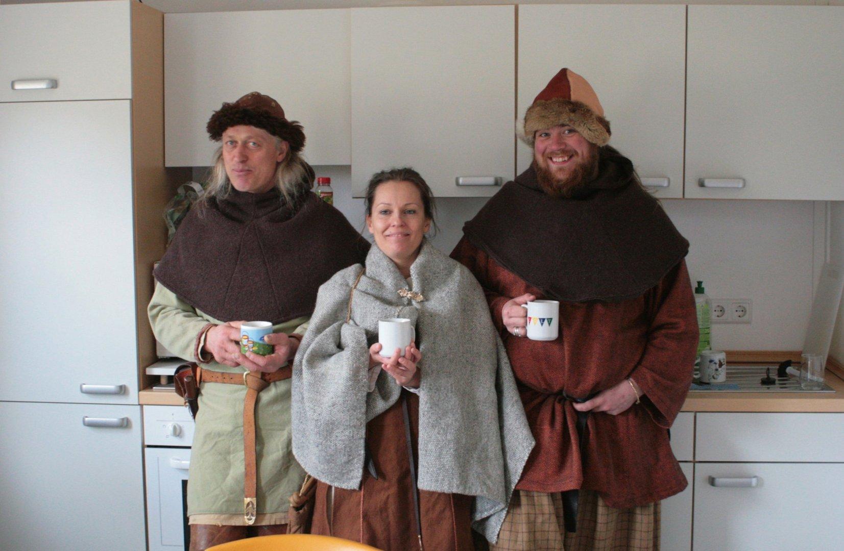 Wikinger-Kaffeepause