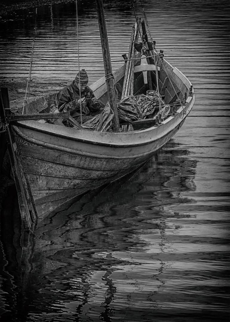 Wikingerboot Borg Lofoten