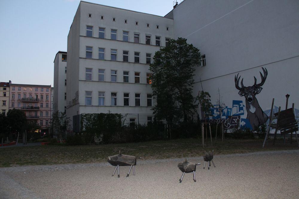 WILD im Hinterhof KEILEREI