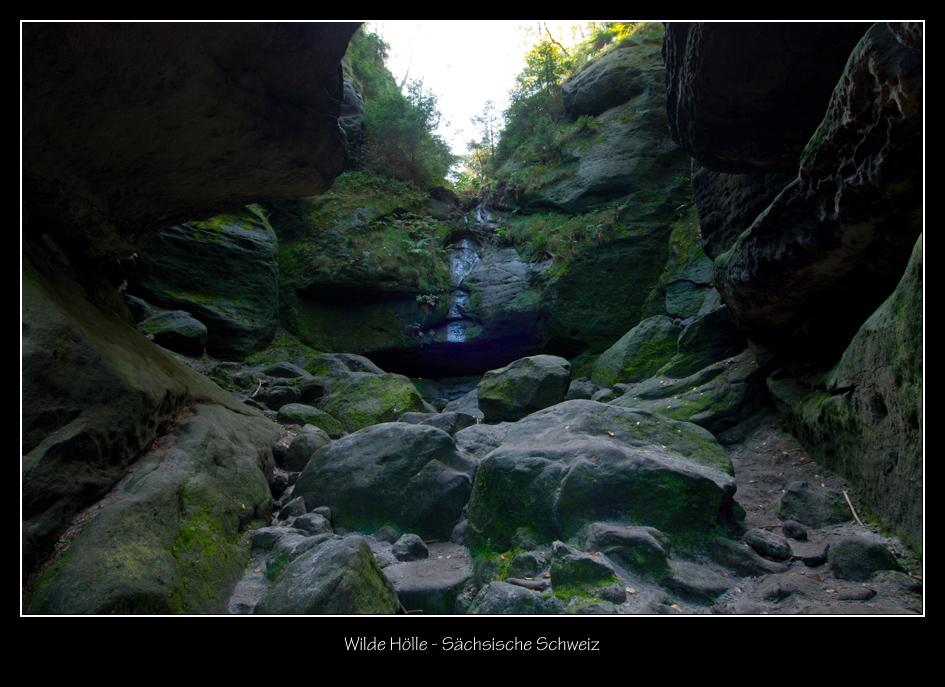 Wilde Hölle - Sächsische Schweiz