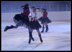 Wilde Kosakken auf dem Eis