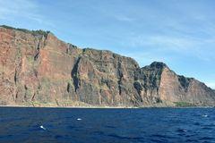 Wilde Steilküste westlich von Funchal auf Madeira