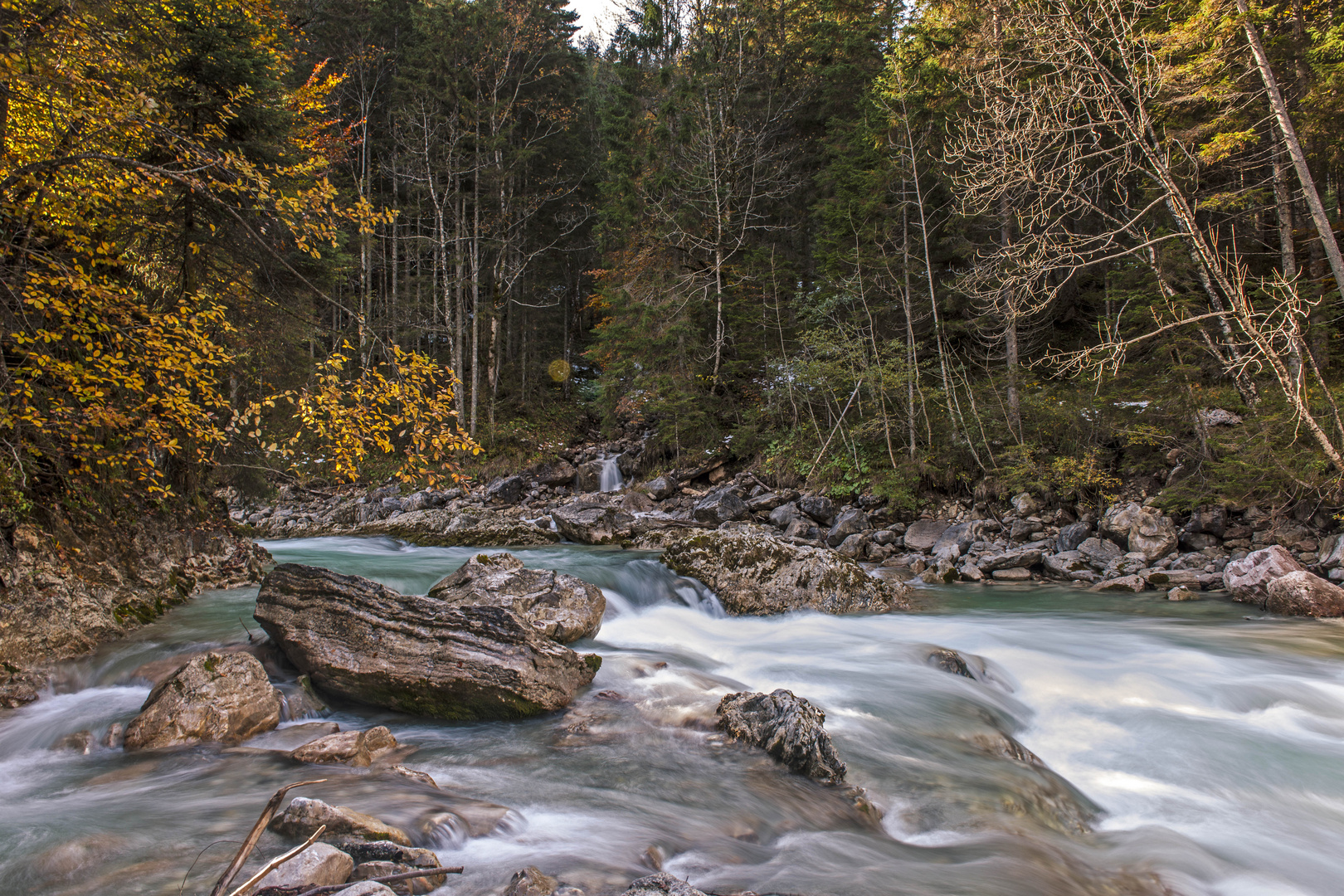 Wilde Wasser im Karwendel