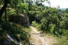 Wilde Wege in den Abruzzen bei Roccacaramanico