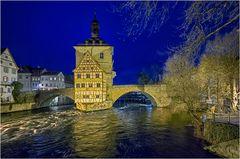 wilderes Wasser in Bamberg