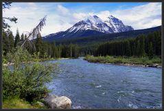 Wildes Kanada: Mount Temple im Banff - NP