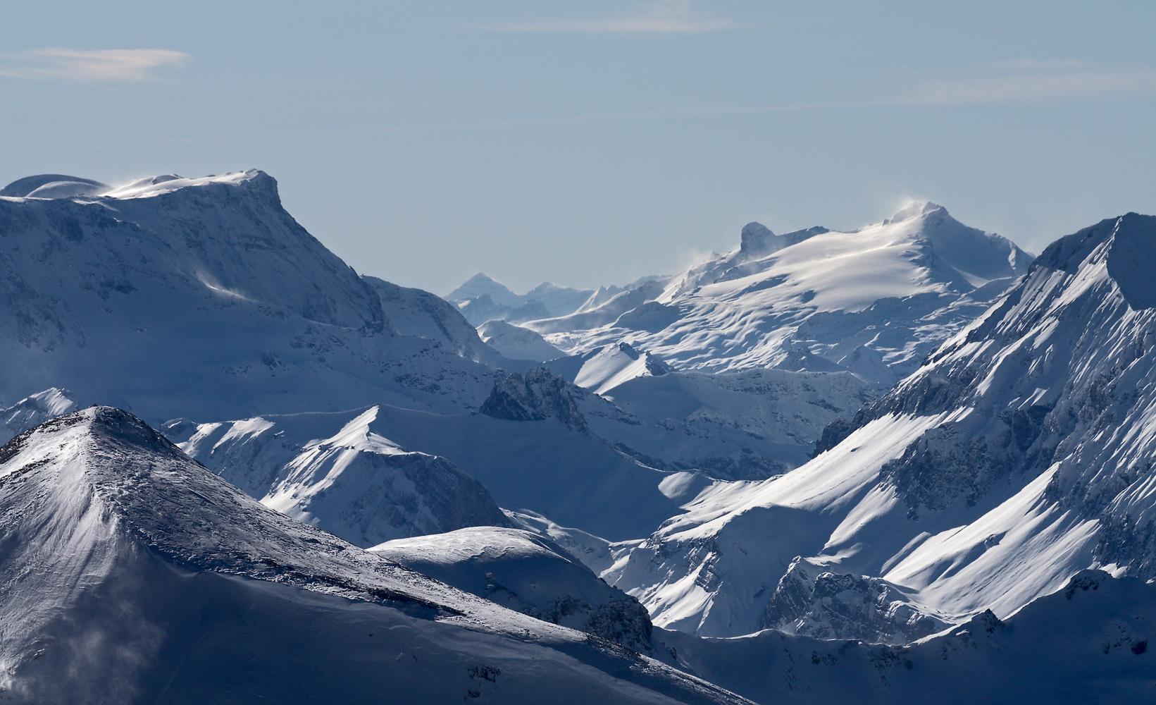 Wildstrubel (3244m) und Wildhorn (3246m)