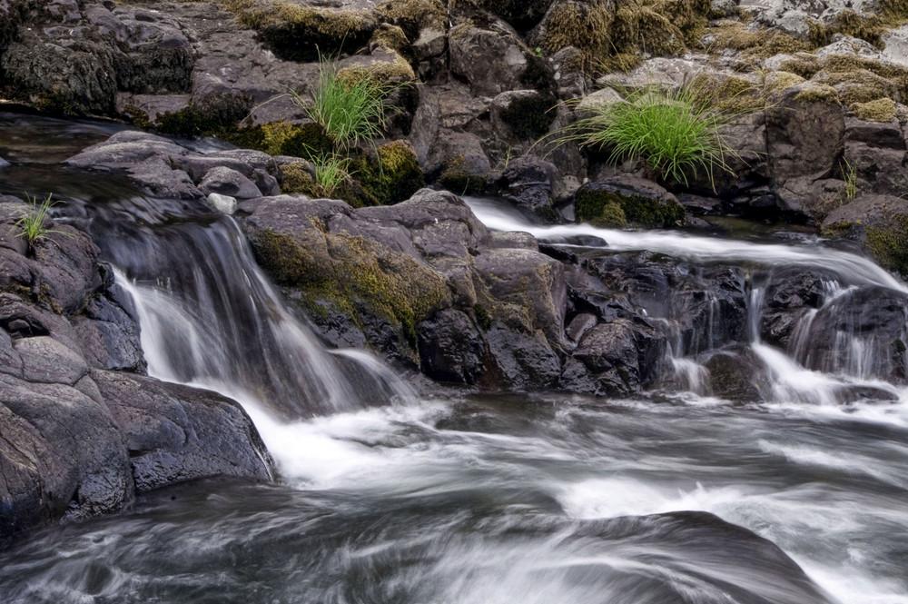 Wildwood Falls riffles.