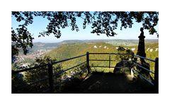 Wilhelm Hauff-Denkmal bei Schloss Lichtenstein