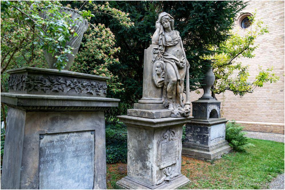 Wilhelmine Erdmuthe Mahlers Statue