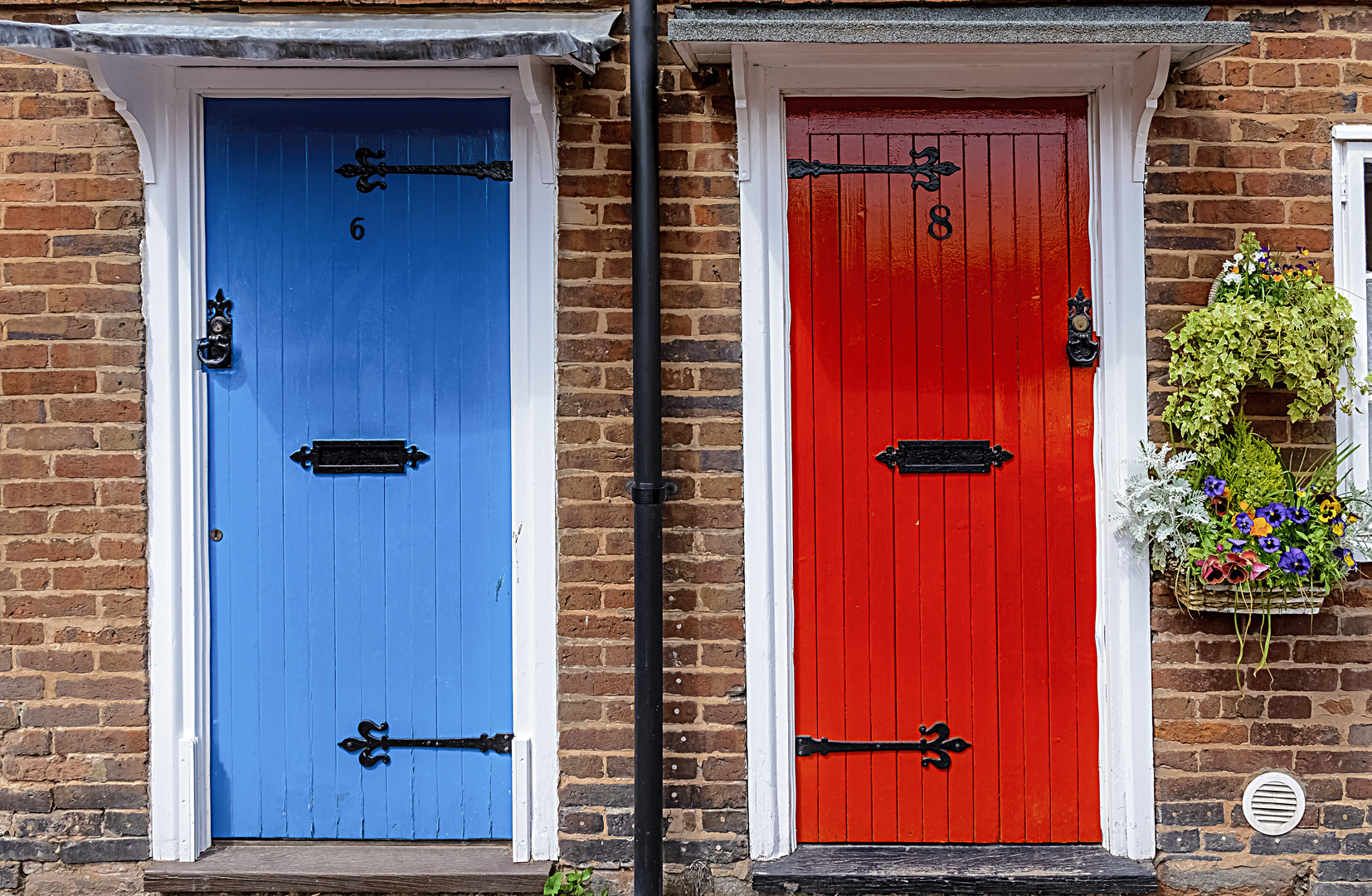 Will you take the Red door or the Blue Door?
