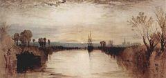 William Turner Kanal von Chichester