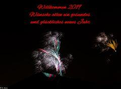 Willkommen 2019  -  Happy New Year – Welcome 2019